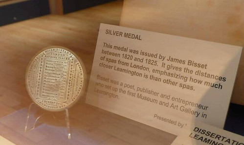 Leamington Spa medal