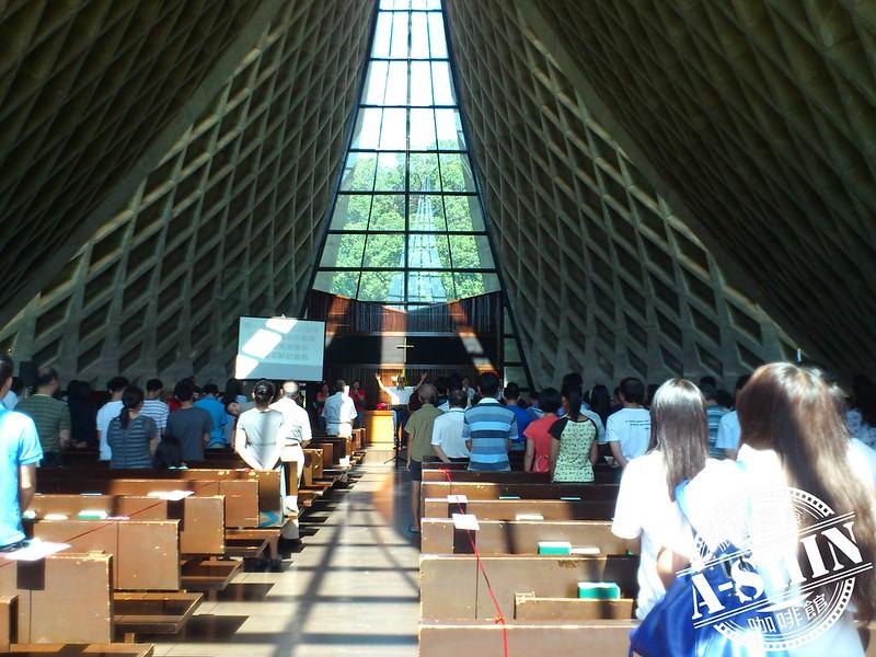 東海大學之路思義教堂~拍照攝影之旅