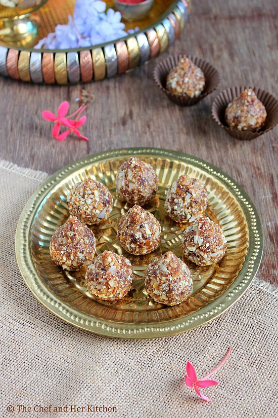 dry fruit modak