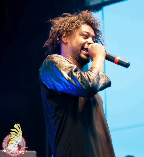 DANNY BROWN AT MAD DECENT BLOCK PARTY IN MICHIGAN