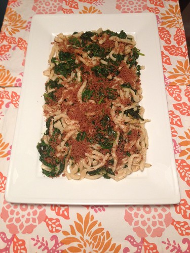 Strozzapreti with Spinach and Preserved Lemon Lindsey