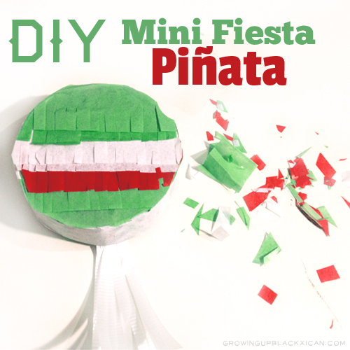 diy mini fiesta pinata