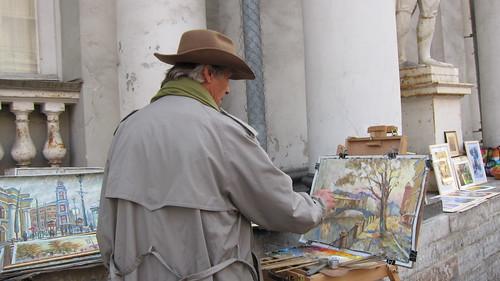 Pietarilainen taiteilija