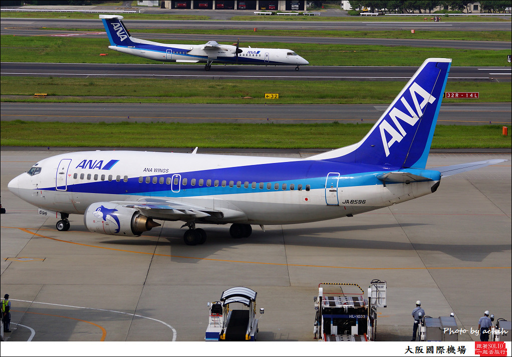 All Nippon Airways - ANA (ANA Wings) JA8596-002