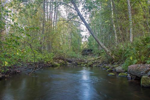 autumn fall water canon river eos stream long exposure l t3 syksy joki 1100d regbel