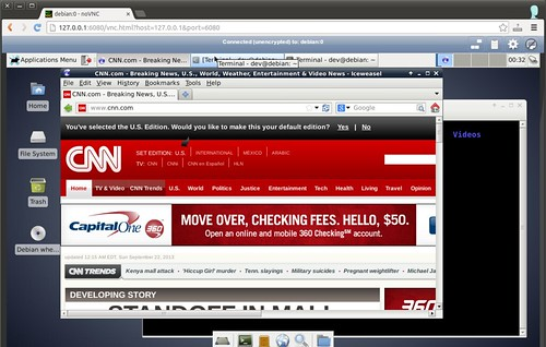 How to access VNC remote desktop in web browser - Xmodulo