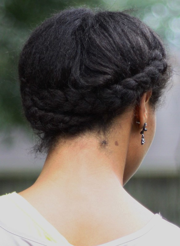 protective style cross braids