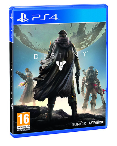 Destiny PS4 Pre Order Inlay 3D UK
