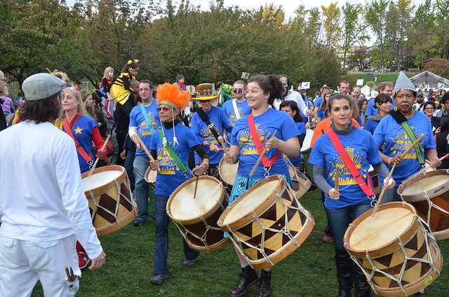 Maracatu NY. Photo by Jean-Marc Grambert.