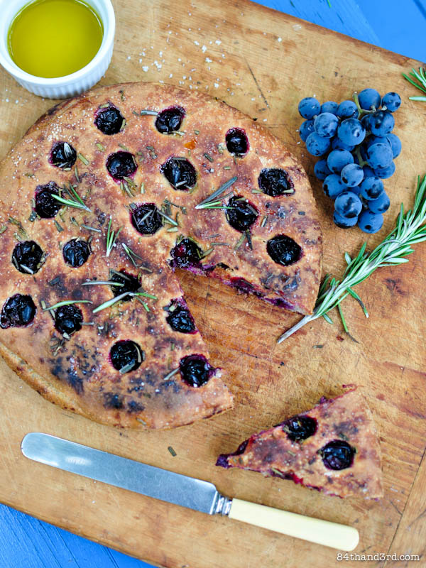 style focaccia grape focaccia with rosemary claudia fleming the last ...