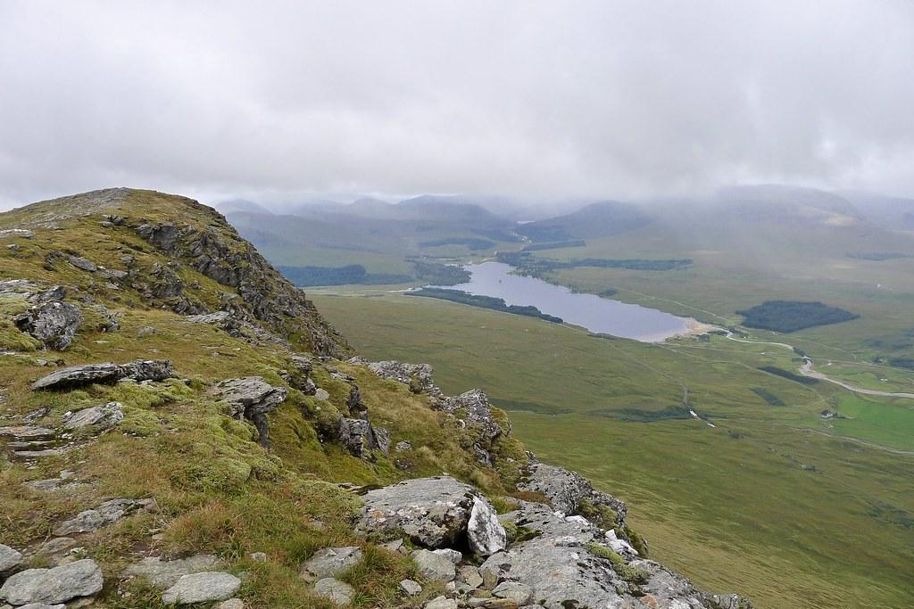Loch Tulla from Beinn Achaladair