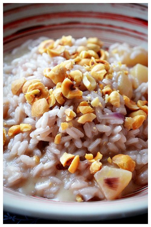 Madernassa Pear and Gorgonzola Risotto© by Haalo