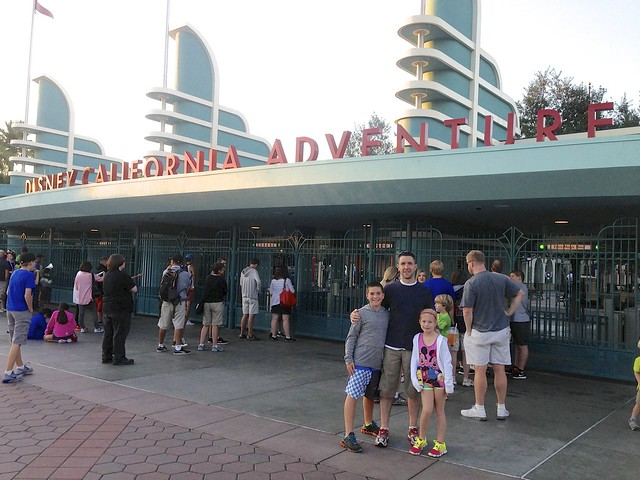 Daddy, Zan & Jayna @ Disney California Adventure