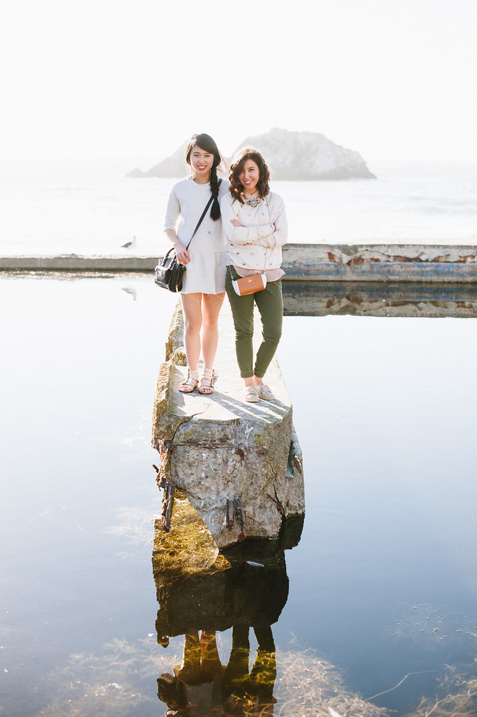 san francisco fashion blog, mallory and whitney, readytwowear, sutro baths, lands end, bay area blogger