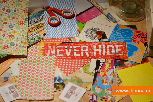 Messy table: Never Hide