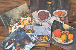 Cezanne fruit still-life
