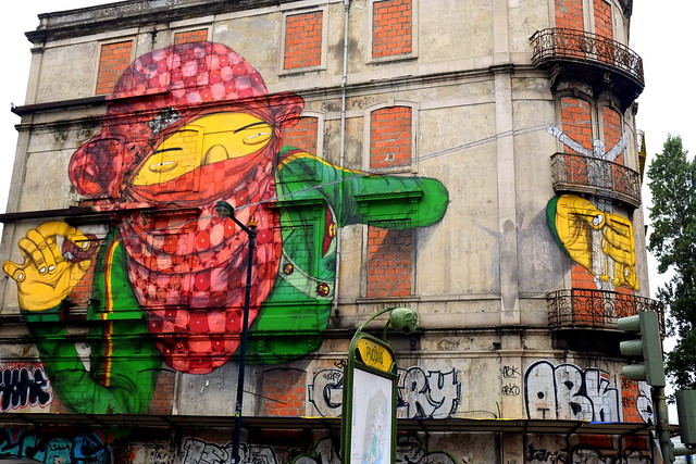 mural crono project | os gemeos | lisbon