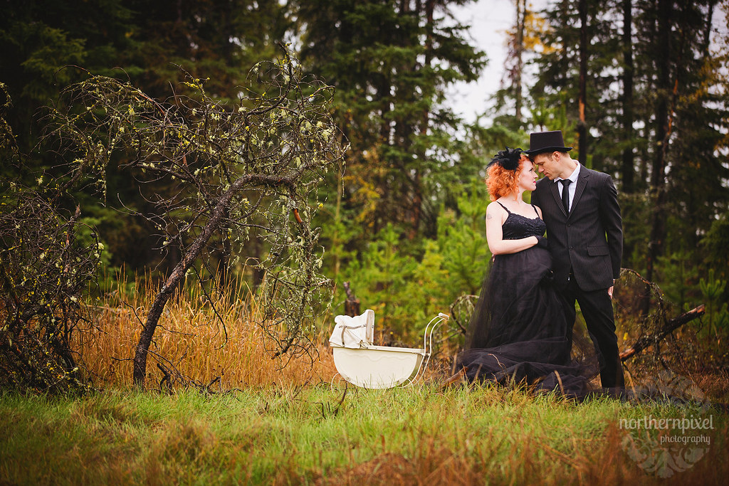 Laura & Jordy - Maternity Session in Prince George BC