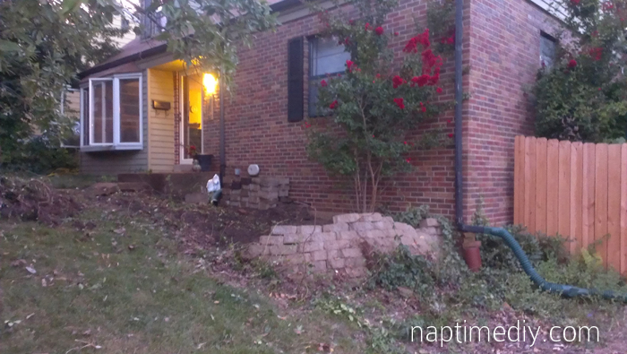 Retaining Wall Removal 7