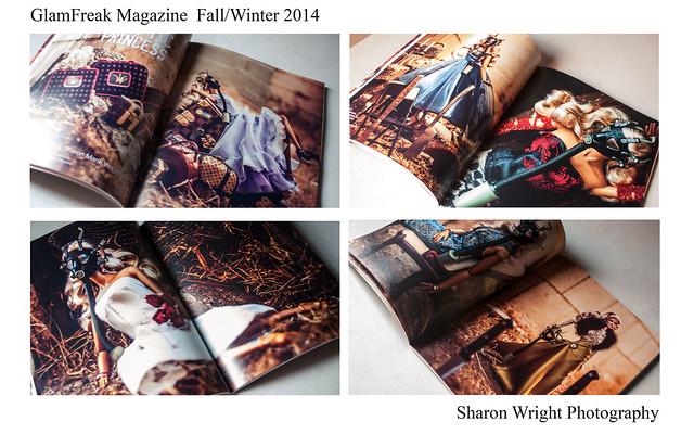 Glamfreak in print
