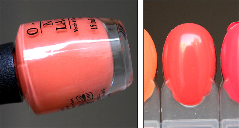 OPI toucan do it if you try swatch