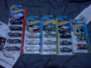 Various Hotwheels