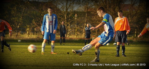 Cliffe FC 3 - 3 Haxby Utd 30Nov13