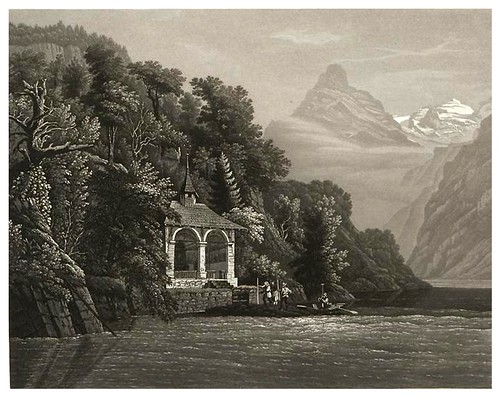 003-La Capilla de Guillermo Tell-Cinquante vues pittoresques de la Suisse… -Vía e-rara
