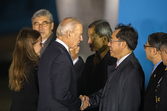 Vice President Biden Arrives in the Republic of Korea