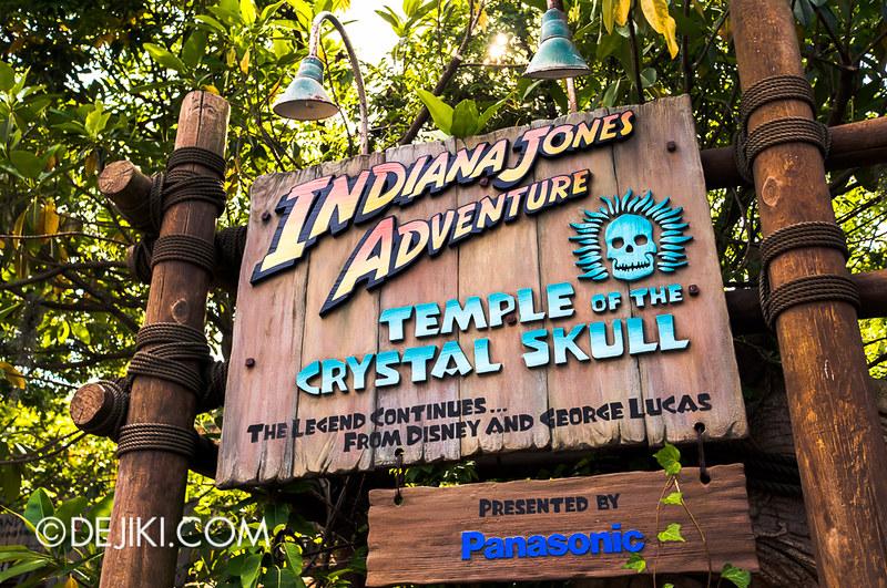 Tokyo DisneySea - Indiana Jones Adventure - Entrances