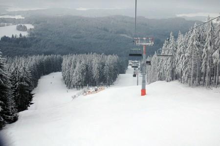 Sternstein - závody a testy lyží v pátek 13.