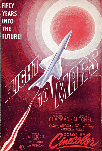Aliens Flight to Mars 1951 - Pics about space