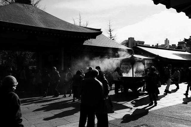 Sensoji Monochrome - Smoke