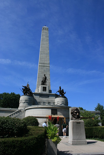 Abraham Lincoln's Lucky Nose in Springfield, Illinois