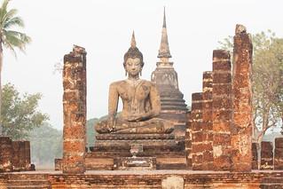 Attēls no  Sukhothai Historical Park pie  Ban Na. park thailand asia southeastasia december buddha oldsukhothai 泰国 สุโขทัย watmahathat ราชอาณาจักรไทย ประเทศไทย 2013 canonef70300mmf456isusm sukhothaihistoricalpark canon450d อุทยานประวัติศาสตร์สุโขทัย sukhothaihistorical sukhothaimuangkao