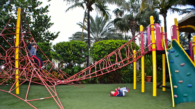 The Breakers Hotel, Palm Beach, Florida - playground