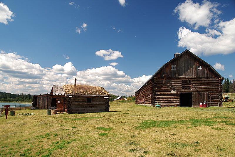 108 Mile Ranch Heritage Site, Highway 97, Cariboo, British Columbia, Canada