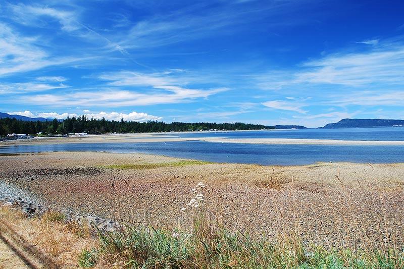 Qualicum Bay, Vancouver Island, British Columbia, Canada.