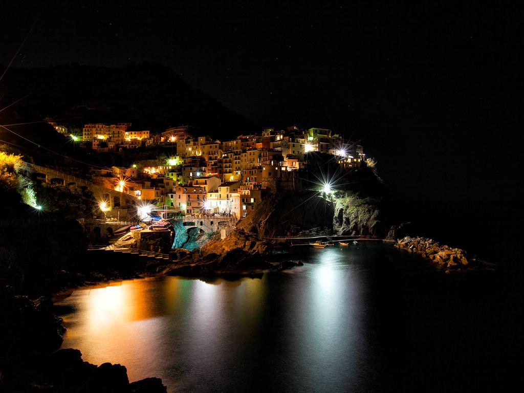 Manarola di notte