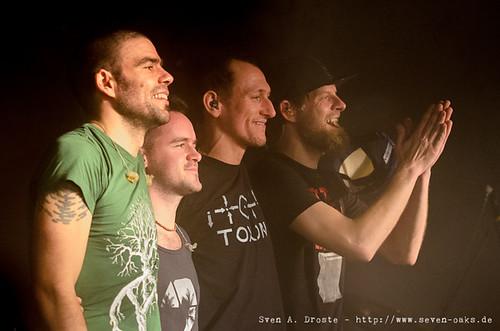 Ben Pavlidis, Christoph Spangenberg, Matze Jechlitschka & Markus 'Onkel' Lingner (SAD_20131217_NKN4069)