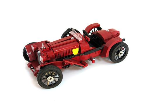 Alfa Romeo 8C 2600 Monza (1933 spec)-Scuderia Ferrari