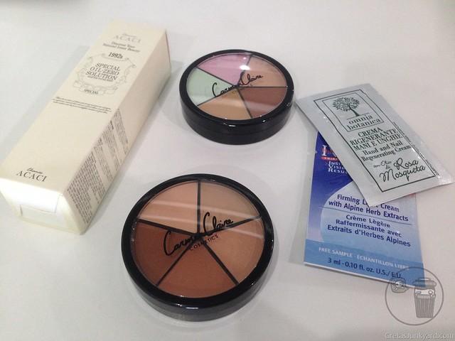 carmen claire cosmetics covert operations concealer palette