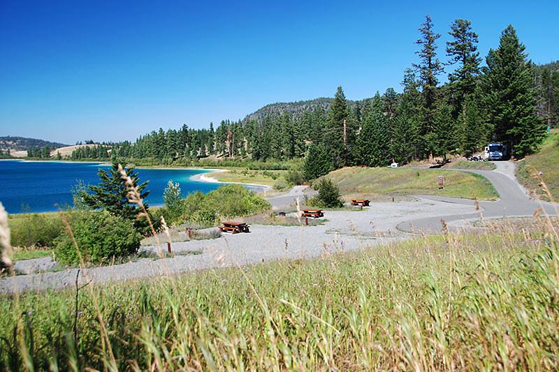 Alleyne Lake and Campground, Kentucky-Alleyne Provincial Park, Merritt, Nicola Valley, British Columbia, Canada