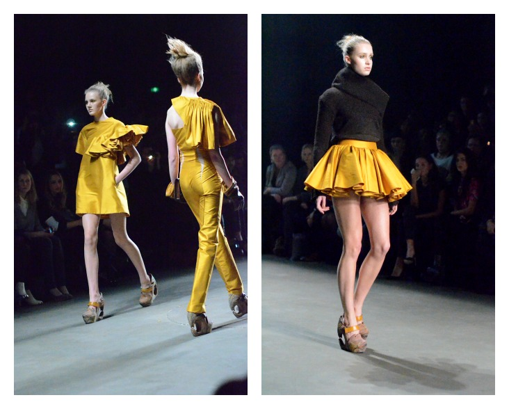Collage Dorhout Mees 3, Fashion Week AMSTERDAM 2014