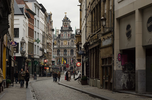 Antwerp old town