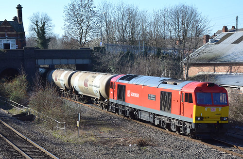 60040 Westerley - Lindseley empty tanks