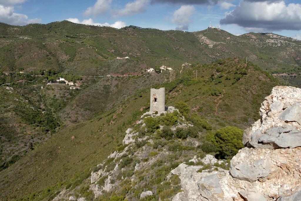 5. Torreón del Castillo de Montornés. Autor, Aureliano Rex