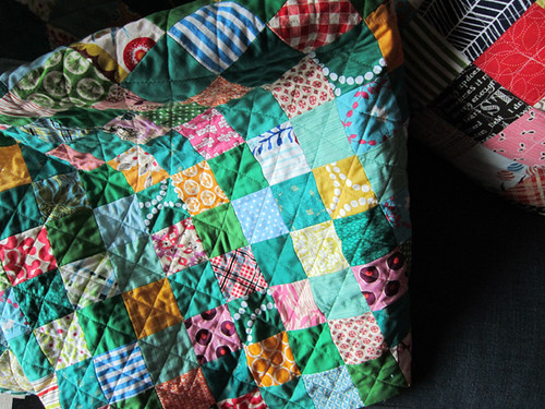 quilting in a grid