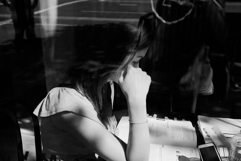 Coffee Shop Study Time