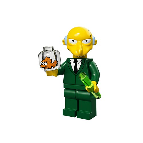 71005 The Simpsons Collectable Minifigures Mr. Burns